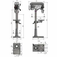 OPTIdrill D 23 Pro (230V) fúrógép
