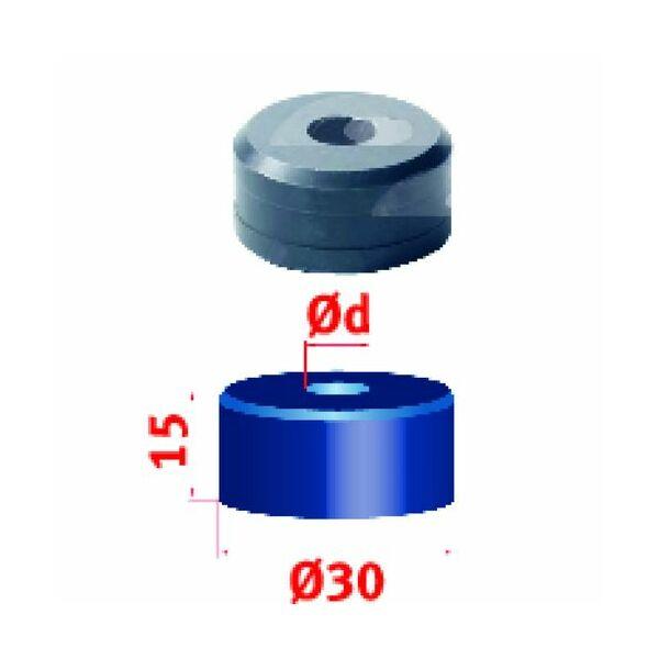 Metallkraft körkivágó matrica Nr. 45 Ø 21,2 mm
