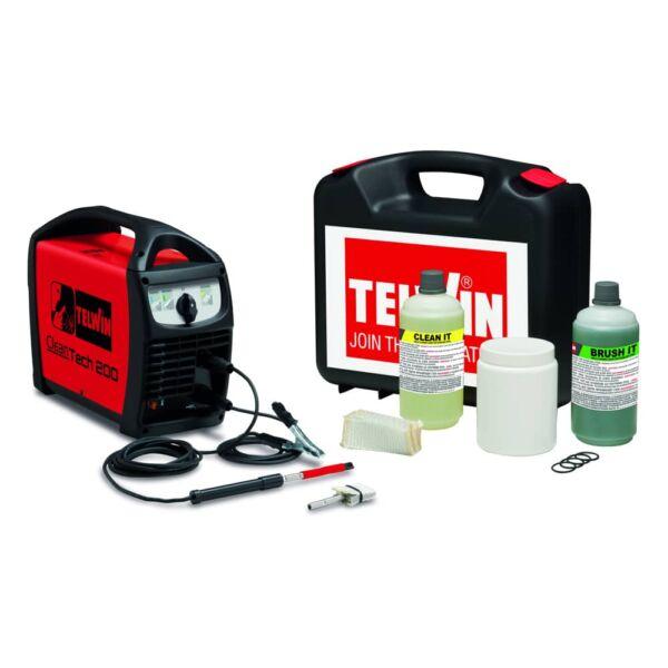 Telwin Cleantech 200 varrattisztító készlet